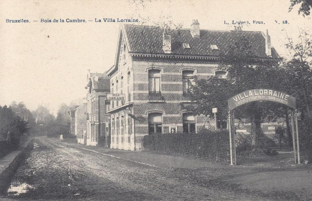 BRUXELLES. De la Porte Louise au Bois de la Cambre. Env