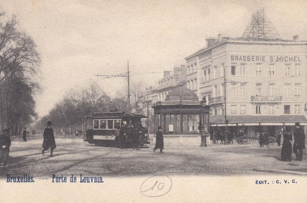 BRUXELLES-VILLE. Ensemble 265 cartes postales, époques