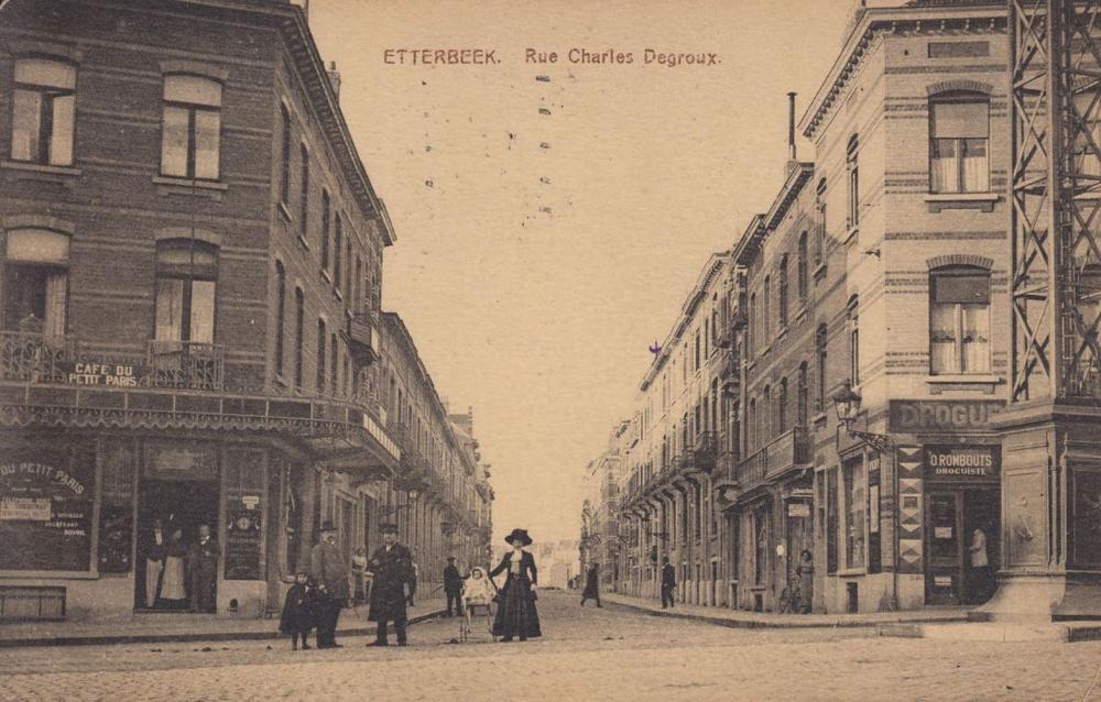 ETTERBEEK. Ensemble 114 cartes postales, époques divers