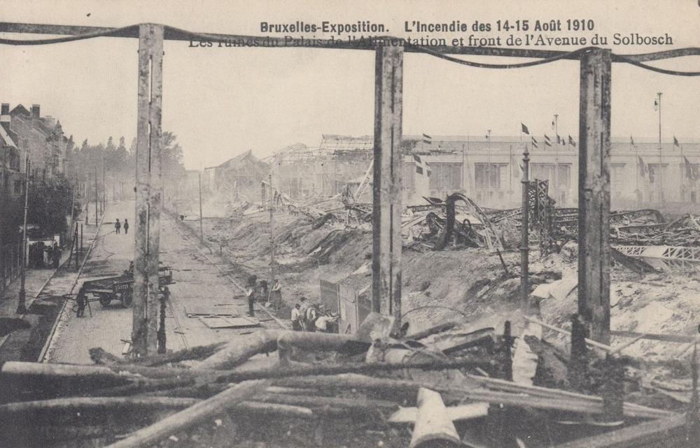 EXPOSITIONS UNIVERSELLES: Bruxelles (1910) et Charleroi