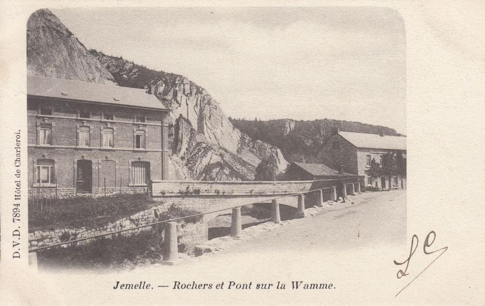 WALLONIE: Vallée de la Meuse, Jemelle, Huy, Stavelot...