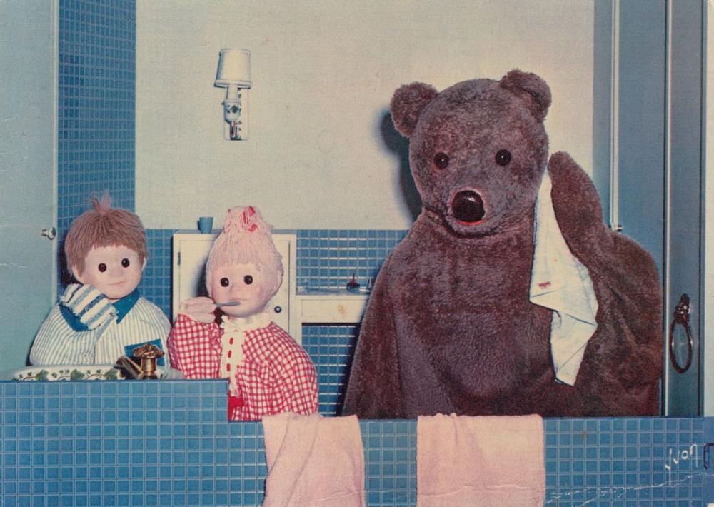 BANDES DESSINÉES, «Bonne nuit les petits amis», Disney,