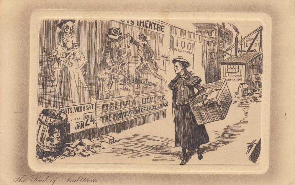 FANTAISIE. 81 cartes postales anglaises («Gibson Postca