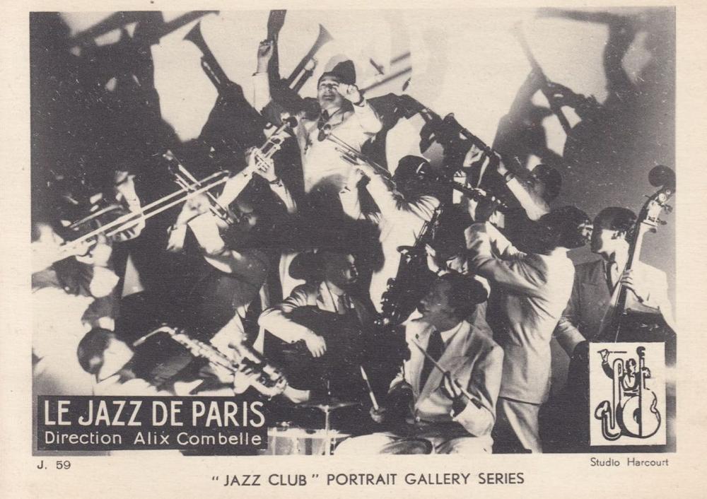 [JAZZ] A «JAZZ CLUB PORTRAIT GALLERY»: 32 cartes postal