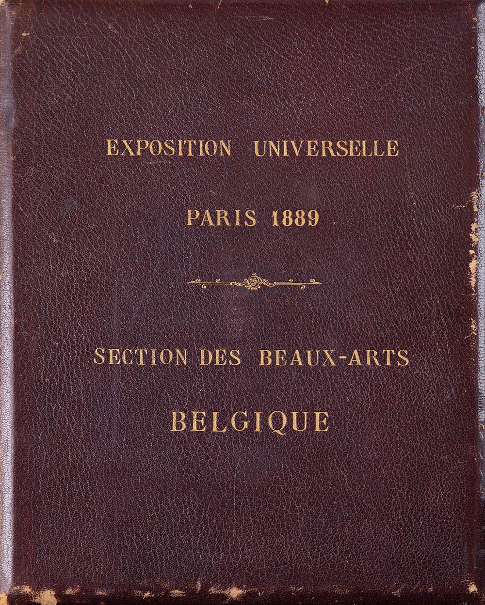 EXPOSITION UNIVERSELLE PARIS 1889. Section des Beaux-Ar