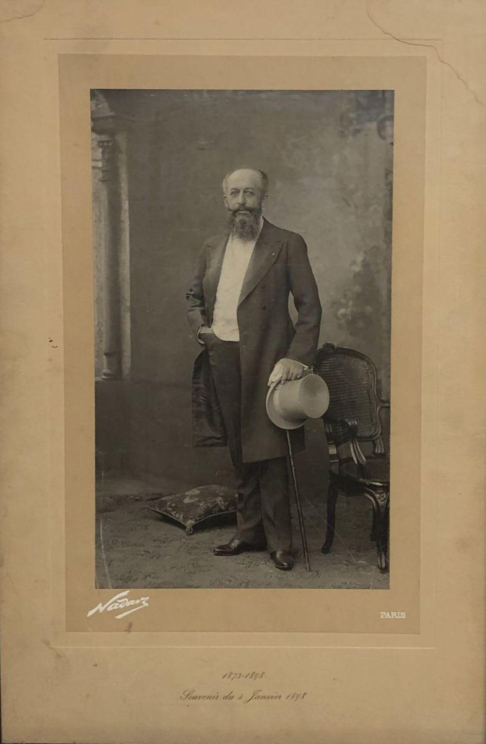 Gaspard-Félix TOURNACHON, dit NADAR - [Portrait]. 1873-