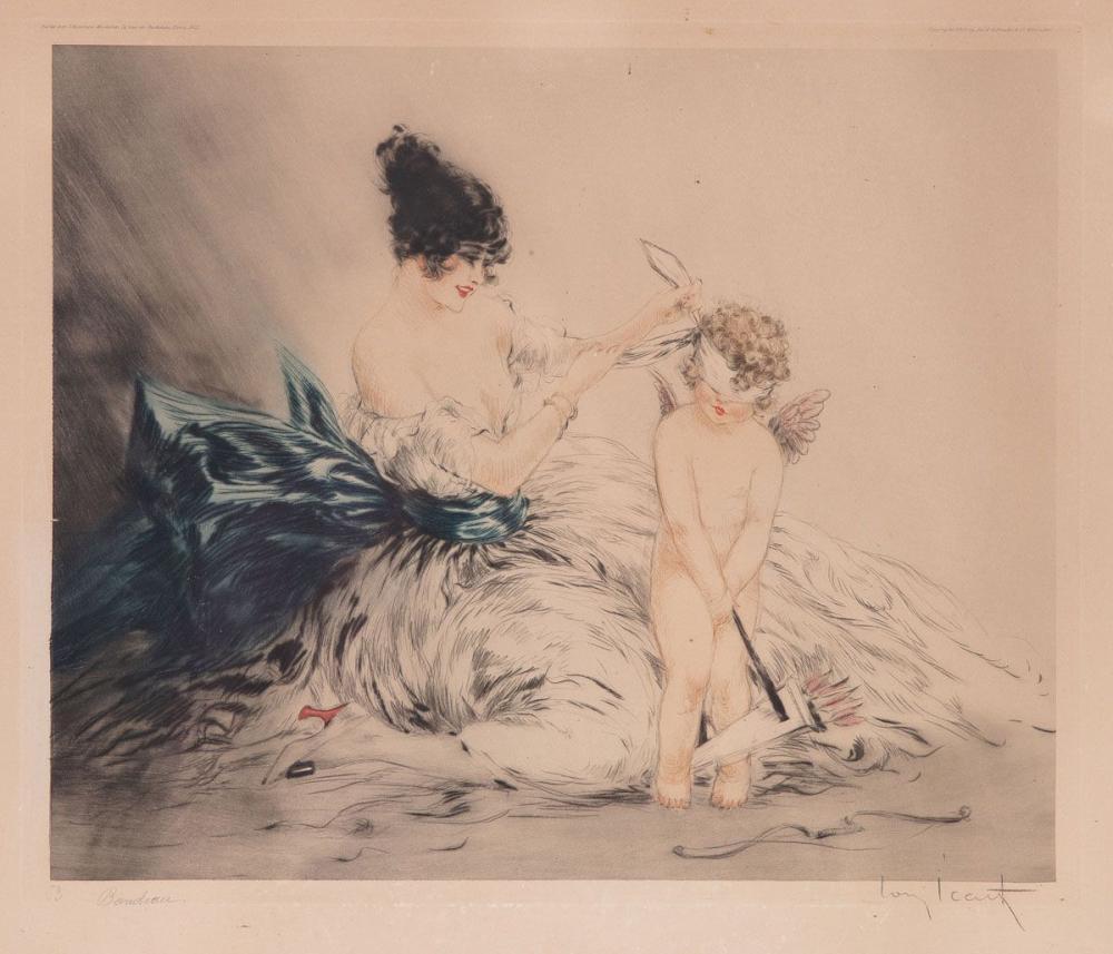 Louis ICART (Toulouse, 1888 - Paris, 1950). - Le Bandea