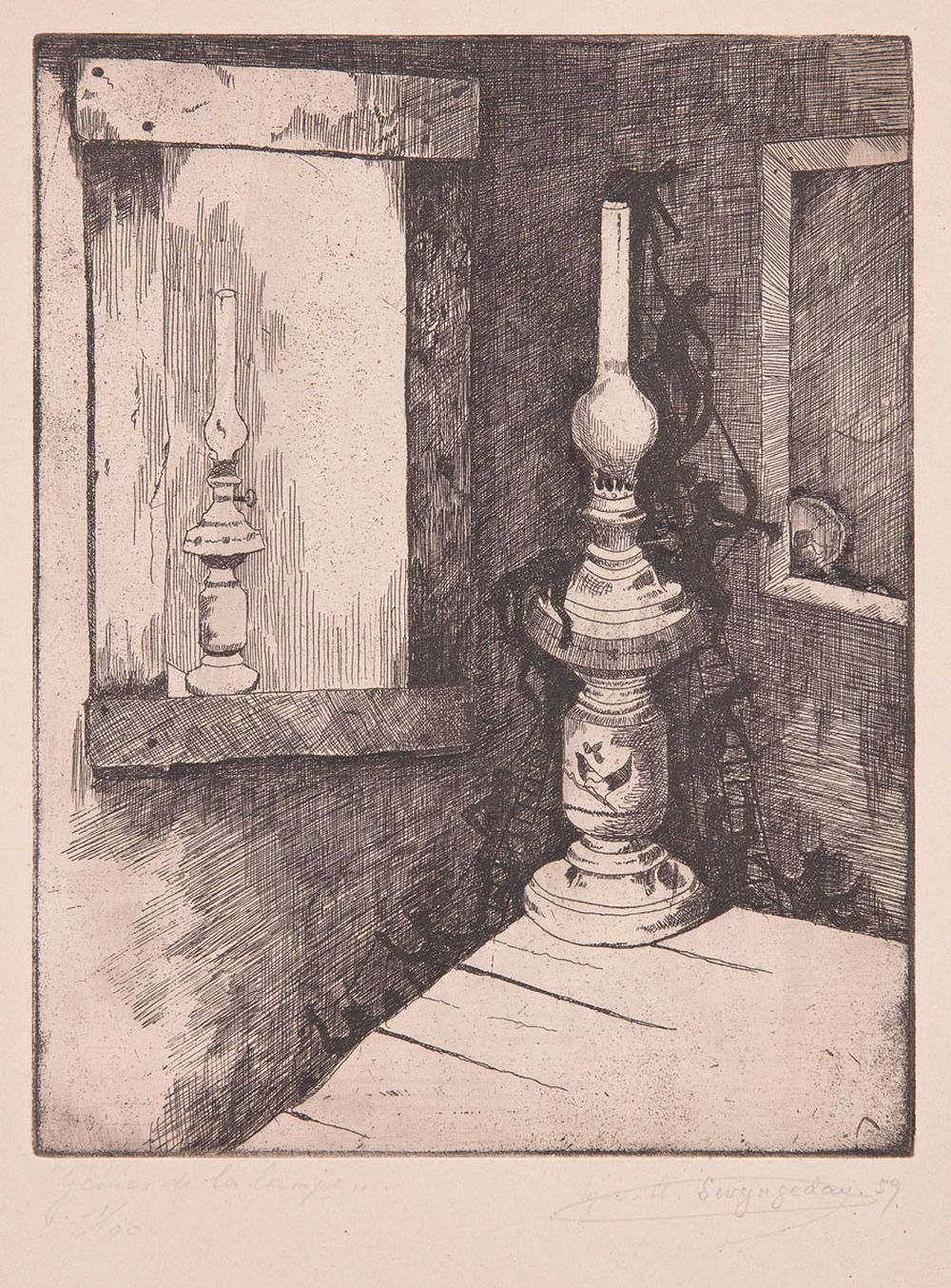 Igor-Albert SWINGEDAU ou SWYNGEDAU (Ixelles, 1939 - 200