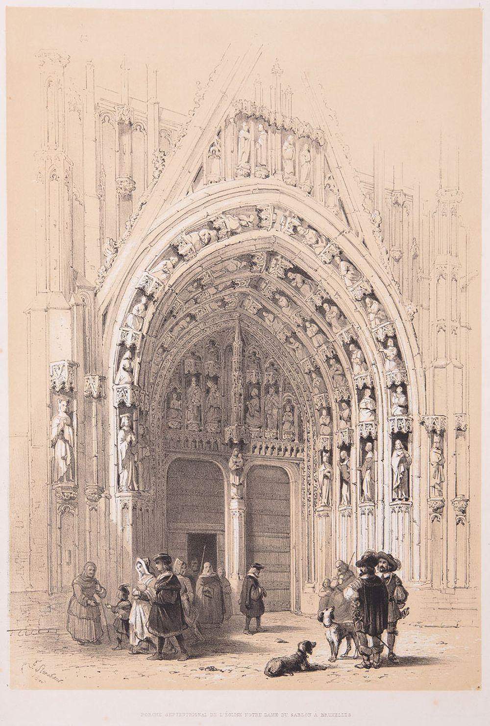 [BELGIQUE] Louis HAGHE - Monuments anciens recueillis e