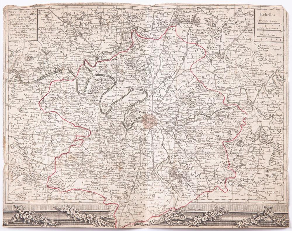 [FRANCE] Louis-Charles DESNOS - [Nouvel Atlas de la gén