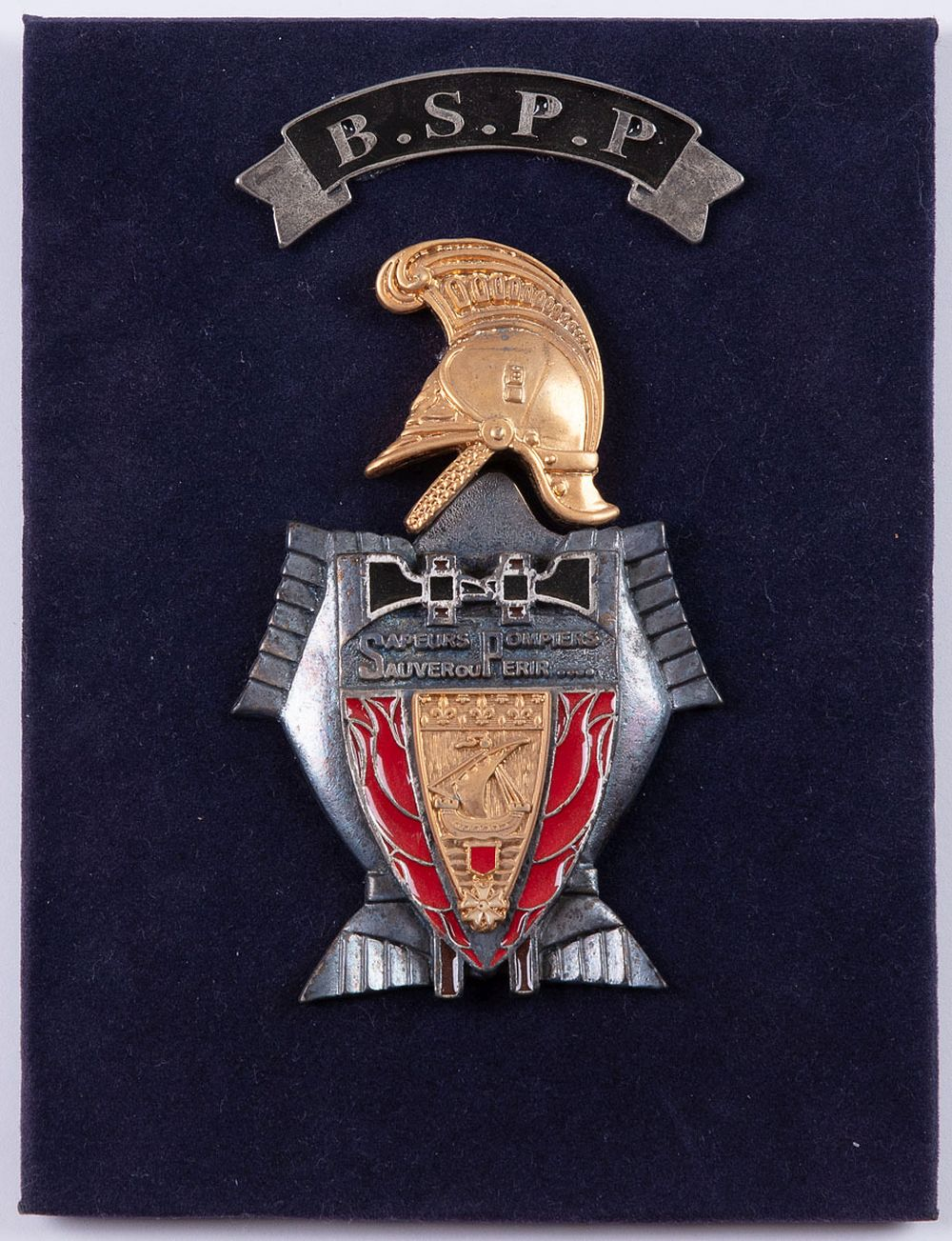 B.S.P.P. Souvenir de la Brigade de Sapeurs-Pompiers de
