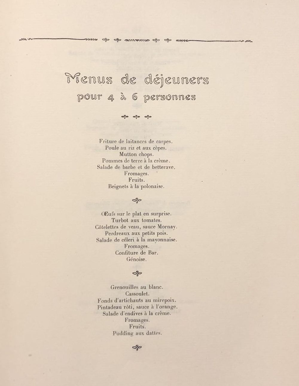 [GASTRONOMIE] ALI-BAB pseudonyme de Henri BABINSKI - Ga