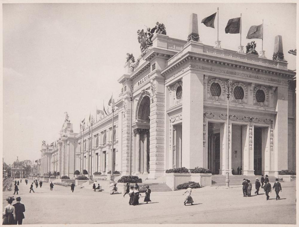 EXPOSITIONS UNIVERSELLES: Gand (1913), Anvers (1930), B