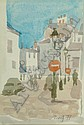 BARBARA DORF, BRITISH (B. 1933) ARR French street, Barbara Dorf, Click for value