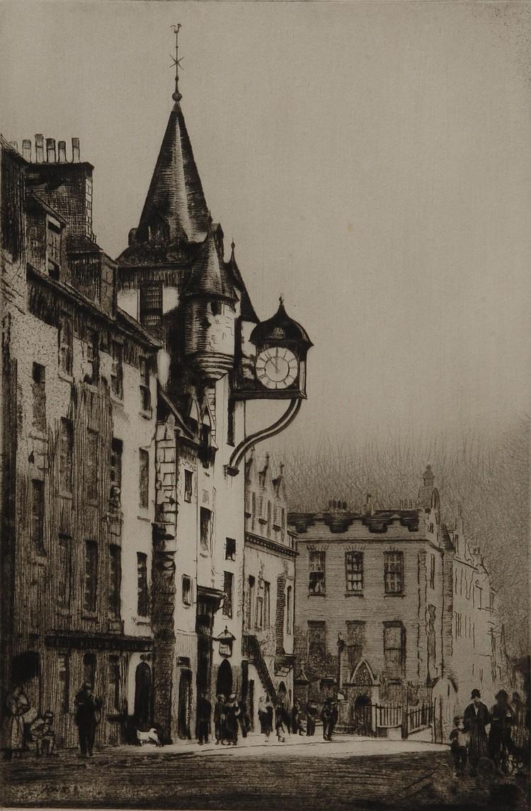 ANDREW WATSON TURNBULL (BRITISH 1874 - ) Canongate
