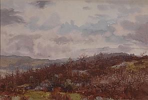 JOHN DOBBY WALKER, BRITISH (1866-1925) 'Grass