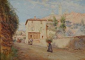 JOHN DOBBY WALKER (1866 - 1925) Porta San