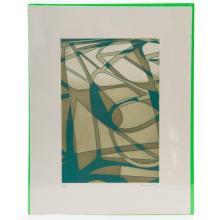 Saúl Kaminer (México, 1952 - ) Sin título. Grabado. Serie 15/ 70. Firmado ángulo inferior derecho. Fechado.