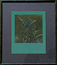 Lote de cuatro obras. a) Saúl Kaminer. (México 1952) Sin título. Grabado 69 / 100. Firmado y fechado 93. Enmarcado. Dimensiones: 25 x 2