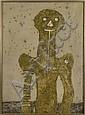 RUFINO TAMAYO, Torso, 1975, Firmada, Aguafuerte 32 / 75, 74 x 55 cm, ? (1970) Carlos, Click for value