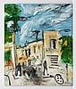 PHIL KELLY, San Rafael, Firmado. Óleo sobre tela, 120 x 100 cm, Con certificado de autenticidad .