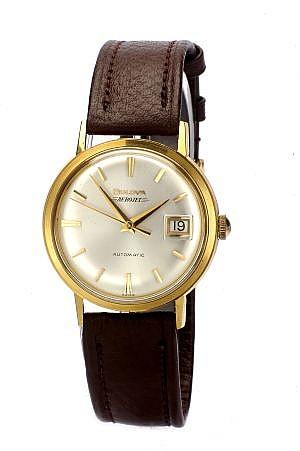 Reloj Para Caballero Marca Bulova Modelo Aerojet En Oro De 18k