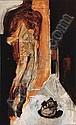 LUCIANO SPANO, Cabeza del profeta, Firmado y fechado, 1992 Óleo sobre tela, 180 x 110 cm, Luciano Spano, Click for value