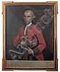 JOSÉ DE PÁEZ. (MÉXICO, 1727-1790). Retrato de Don Ángel José Pastor Morales.Óleo sobre Tela. 103 x 78 cm, José (1720) Paez, Click for value