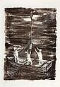KCHO (ALEXIS LEYVA MACHADO), Tres Juanes, Firmada y fechada 2002 Litografía 15 / 20, 110 x 76 cm., Joseph Linkert, Click for value