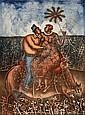 MAXIMINO JAVIER, Sueño de Verano, Firmada y fechada 05, Litografía 43 / 80, 80.5 x 61 cm., Maximino  Javier, Click for value