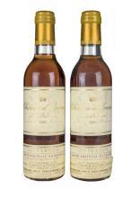 Château d'Yquem. Cosecha 1993. Lur Saluces. Sauternes. Nivel: en el cuello. Etiquetas con pequeños faltantes....