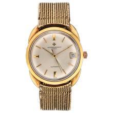 VACHERON & CONSTANTIN wristwatch. 18K yellow gold case and bracelet. Automatic.