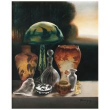 BENJAMÍN DOMÍNGUEZ, Untitled, Signed, Oil on canvas, 50 x 40 cm