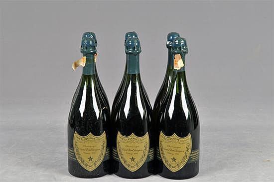 Cuvée Dom Pérignon. Champagne. Francia, Vintage 1966. Capacidad: 750 ml. Total de piezas: 6