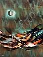 LEONARDO NIERMAN, Eclipse, Firmado, Acrílico sobre masonite, 80 x 60 cm.80 x 60 cm., Leonardo M Nierman, Click for value