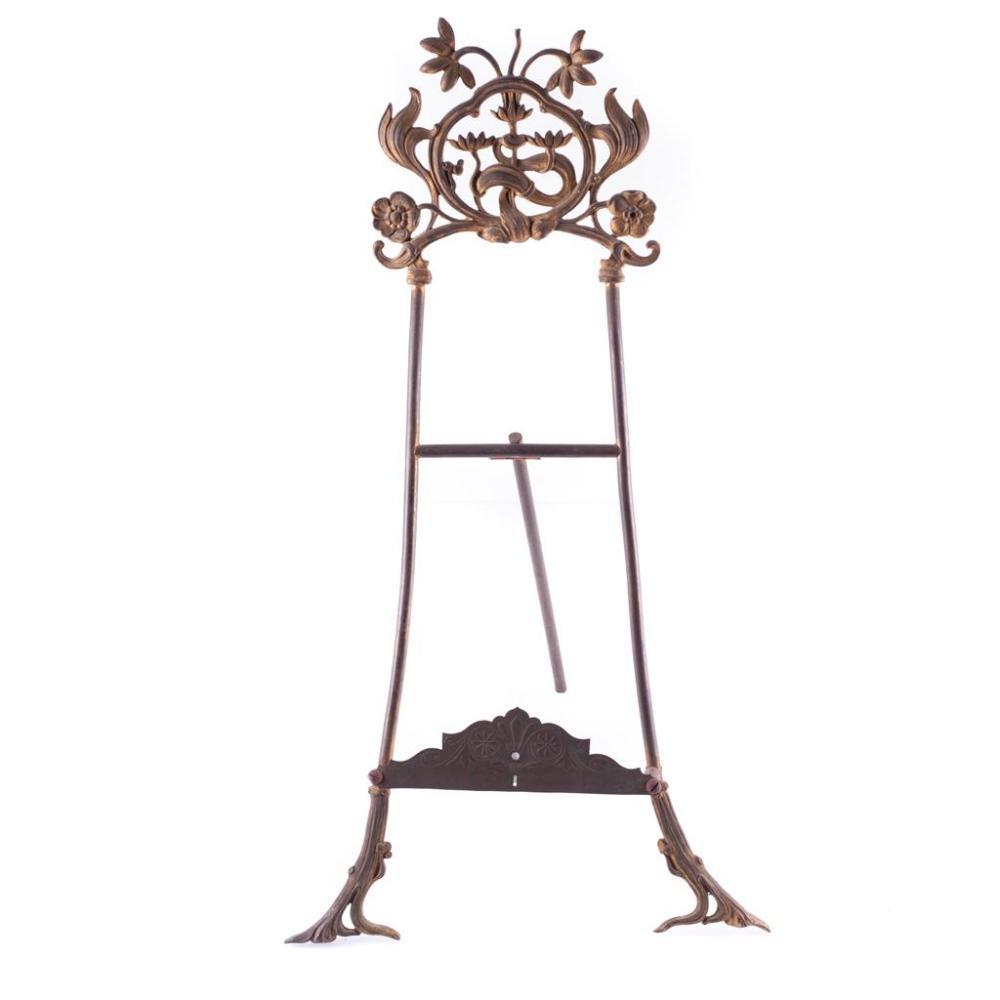 Atril siglo xx elaborado en bronce dise o de soporte tr p - Atril decoracion ...
