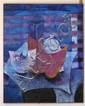 DANIEL WOLF, Bodegón, Firmado. Mixta y collage sobre tela, 150 x 119.5 cm