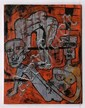 ALEJANDRO SANTIAGO, Rostros, Firmado y fechado 0/12 al frente y firmado al reverso. Óleo sobre tela, 90 x 70 cm
