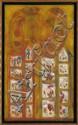 ROLANDO ROJAS, Sin título, Firmada. Mixta sobre tela, 100 x 60 cm, Rolando Rojas, Click for value