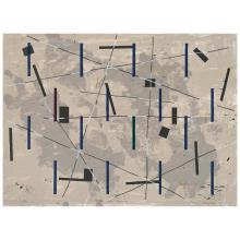 "FRANCISCO CASTRO LEÑERO, Territorios ocupados, from the series ""Diez artistas en la ciudad"", Signed and dated 95, Screenprint I/XX P..."