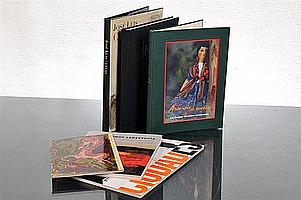 "Seis libros. a) ""El Mundo de Jesús Reyes Ferreira"". Museo Nacional de Arte Moderno. Instituto Nacional de Bellas Artes. México. 1962. b"