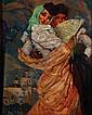 JOSE BARDASANO, Manola, Firmado, Óleo sobre tela, 100 x 80 cm. Restaurado, José Bardasano Baos, Click for value