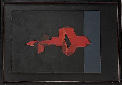 Lote de cinco obras. a) Elizabeth Catlett. (Estados Unidos 1915). Joven campesino. Fechada 61. Litografía 22 / 85. Enmarcada. Dimension