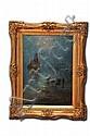 Alfred Fontville de Breanski (1877 - 1957). A summer night Cornwall. Escuela inglesa. Firmado. Óleo sobre lienzo. 70 x 50 cm., Jr., Alfred Fontville de Breanski, Click for value