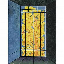 JUAN SORIANO, De la serie Ventanas, Firmada y fechada 2005, Litografía 58 / 60, 80 x 60.5 cm