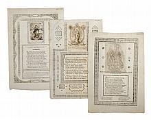 Invitaciones. En el Estreno de la Santa Casa de Loreto verificado el día 23 de Setiembre de 1834. Puebla:1834.