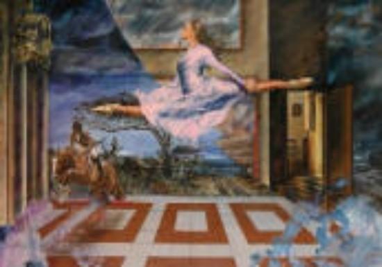 Marcelo Guerra, Triunfos, Firmado y fechado, 1998 Óleo sobre tela, 99 x 139 cm