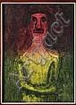 RUFINO TAMAYO, Monólogo, Firmada, Mixografía 85 / 100, 74 x 54 cm., ? (1970) Carlos, Click for value