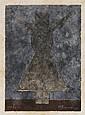RUFINO TAMAYO, Mujercita, Firmada. Mixografía ¿?/ 250*, 23.5 x 16.7 cm