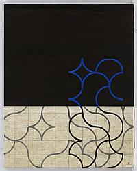 FRANCISCO CASTRO LEÑERO, Cúmulos Intervención, de la serie Cúmulos, Firmado. Acrílico sobre tela. 150 x 120 cm. Con certificado.